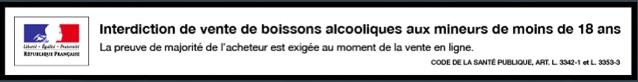 Interdiction de vente de boissons alcooloques aux mineurs de moins de 18 ans